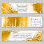 natal · banners · coleção · quatro · bege · projeto - foto stock © ivaleksa