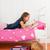 készít · házi · feladat · aranyos · kislány · festmény · otthon - stock fotó © ivonnewierink