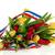 Bouquet · Tulpen · farbenreich · weiß · Blume - stock foto © ivonnewierink