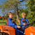 farm boys on tractor stock photo © ivonnewierink