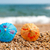 renkli · gölge · plaj · küçük · deniz - stok fotoğraf © ivonnewierink