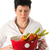Young woman with vegetables stock photo © ivonnewierink