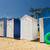 plaj · ada · Fransa · renkli · kum · evler - stok fotoğraf © ivonnewierink