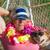 psa · właściciel · lata · wakacje · posiedzenia · blisko - zdjęcia stock © ivonnewierink