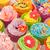 verjaardag · veel · zoete · bloemen · boter - stockfoto © ivonnewierink