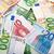 euros · différent · valeurs · isolé · blanche - photo stock © ivonnewierink