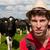 agricultor · campo · vacas · jóvenes · paisaje · verde - foto stock © ivonnewierink