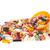 színes · cukorka · textúra · háttér · fehér · kókusz - stock fotó © ivonnewierink