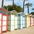 renkli · plaj · fransız · ada · basit · Fransa - stok fotoğraf © ivonnewierink