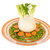 isolated fennel with sugar snaps carrots and paes stock photo © ivonnewierink