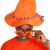 nederlands · voetbal · oranje · gezicht - stockfoto © ivonnewierink