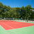pista · de · tenis · primer · plano · fitness · salud · verano · espacio - foto stock © ivonnewierink