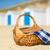 plaj · evler · hollanda · sahil · beyaz - stok fotoğraf © ivonnewierink