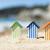 playa · juguetes · miniatura · rojo · plástico · pala - foto stock © ivonnewierink
