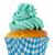 Blauw · groene · papier · boter · room - stockfoto © ivonnewierink