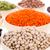 peulvruchten · witte · kommen · voedsel · oranje - stockfoto © ivonnewierink