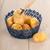 blue basket potatoes stock photo © ivonnewierink