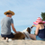 救助 · 犬 · ビーチ · 実例 · 海 · ヘルプ - ストックフォト © ivonnewierink