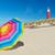 deniz · feneri · hollanda · ada · renkli · güneş · şemsiyesi - stok fotoğraf © ivonnewierink