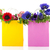 colorful paper bags with anemones stock photo © ivonnewierink