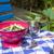 marrowfat peas and green peas in vegetable garden stock photo © ivonnewierink