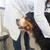 veteriner · büyük · köpek · dinleme - stok fotoğraf © ivonnewierink
