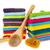colorido · toalhas · branco · azul · banheiro - foto stock © ivonnewierink