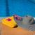 белый · полотенце · бассейна · Бассейн · воды - Сток-фото © ivonnewierink