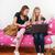 friends making homework together stock photo © ivonnewierink