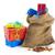 kolorowy · candy · torby · papierowe · słodkie · poduszki · odizolowany - zdjęcia stock © ivonnewierink