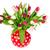 farbenreich · Bouquet · Tulpen · Vase · herrlich · Glas - stock foto © ivonnewierink