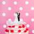 düğün · pastası · kırmızı · gül · resepsiyon - stok fotoğraf © ivonnewierink