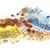 muchos · euros · monedas · billetes · aislado - foto stock © ivonnewierink