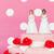 торт · бежать · свадебный · торт · женщину · любви · весело - Сток-фото © ivonnewierink