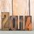 2014 in vintage letters stock photo © ivonnewierink
