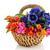 frescos · baguettes · mantequilla · cesta · mesa · desayuno - foto stock © ivonnewierink