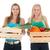 saudável · legumes · madeira · verde · cenoura - foto stock © ivonnewierink