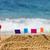 homokvár · tengerparti · homok · kastély · tengerpart · gyerekek · építkezés - stock fotó © ivonnewierink