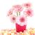 pembe · tatlı · çiçekler · kalp · şeker · beyaz - stok fotoğraf © ivonnewierink