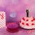 rózsaszín · rózsák · esküvői · torta · fehér · díszít · felső - stock fotó © ivonnewierink