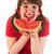 eating melon stock photo © ivonnewierink