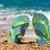 praia · colorido · verão · flores · água - foto stock © ivonnewierink