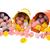 húsvéti · tojások · színes · fém · húsvét · narancs · fehér - stock fotó © ivonnewierink