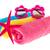 três · toalhas · colorido · abstrato · luz · saúde - foto stock © ivonnewierink