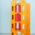brinquedo · guindaste · branco · carro · fundo · metal - foto stock © ivonnewierink