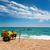 duiken · uitrusting · strand · Geel · rack · landschap - stockfoto © ivonnewierink