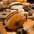 old wooden pulleys stock photo © ivonnewierink