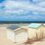 coloré · plage · rangée · ciel · bleu · été - photo stock © ivonnewierink