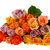 bouquet roses in various colors stock photo © ivonnewierink