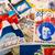 dutch post stamps stock photo © ivonnewierink